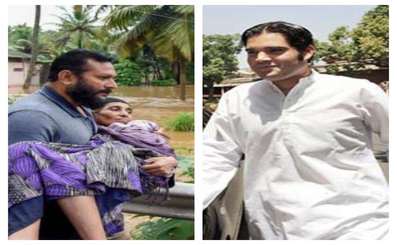 केरल बाढ़ पीड़ितों की मदद के लिए आगे आए वरूण गांधी, की 2 लाख की आर्थिक मदद
