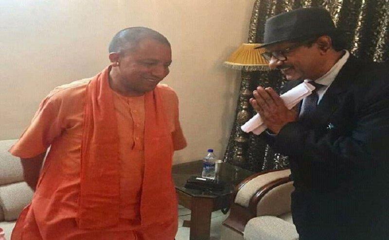 DG होमगार्ड ने लिखा योगी को खत, BJP के लिए करना चाहता हूं प्रचार-प्रसार