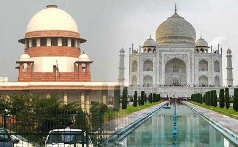 ताज संरक्षण मामला: योगी सरकार को SC की फटकार, एक महीने में मांगा विजन डाक्यूमेंट
