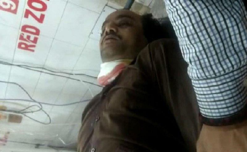लखनऊ: विधानसभा की कैंटीन में खून से लथपथ मिला कर्मचारी, गर्दन पर चाकू से वार