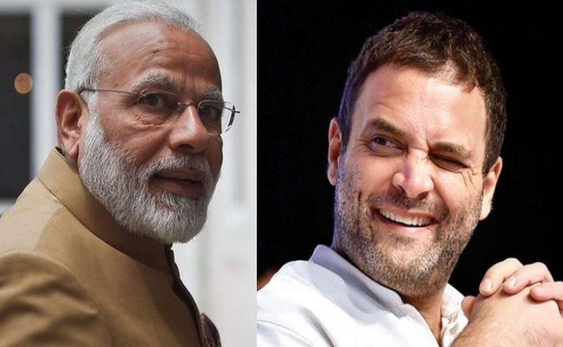 इस बार PM मोदी की किस्मत पर लगा चंद्रग्रहण और राहुल गांधी का चमक उठा सितारा