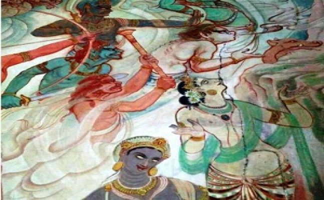 The colors of the mahabodhi temple will fill the artworks of Japan