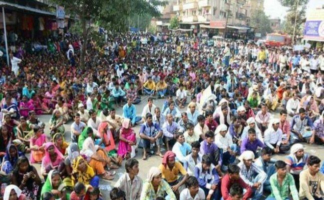 बुलेट ट्रेन के खिलाफ प्रदर्शनों पर सरकार चुप क्यों ?