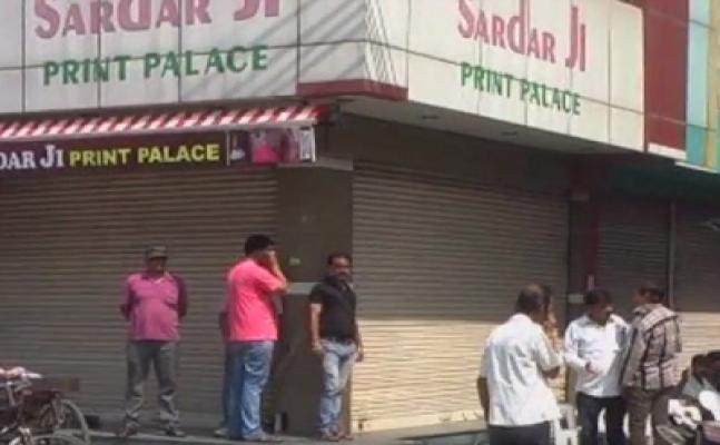 मेरठः सेट्रल मार्किट में कई दुकानें अवैध करार, व्यापिरयों की हड़ताल शुरू