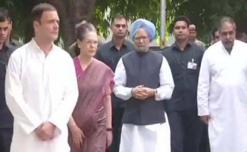 दिल्ली में राहुल और सोनिया गांधी ने दी एनडी तिवारी को श्रद्धांजलि, जानिए कब होगा अंतिम संस्कार