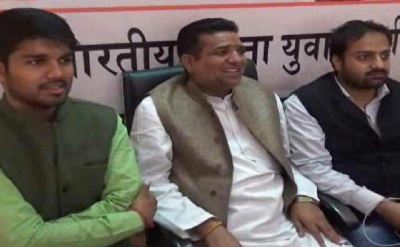 बीजेपी विधायक सजंय गुप्ता पर अपनी ही पार्टी के कार्यकर्ता से मारपीट का आरोप