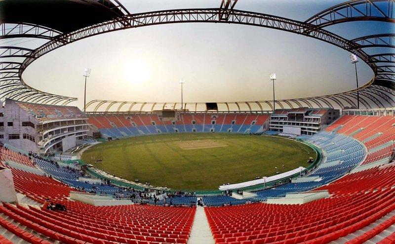 भारत-वेस्टइंडीज मैच से पहले योगी सरकार ने बदला इकाना स्टेडियम का नाम