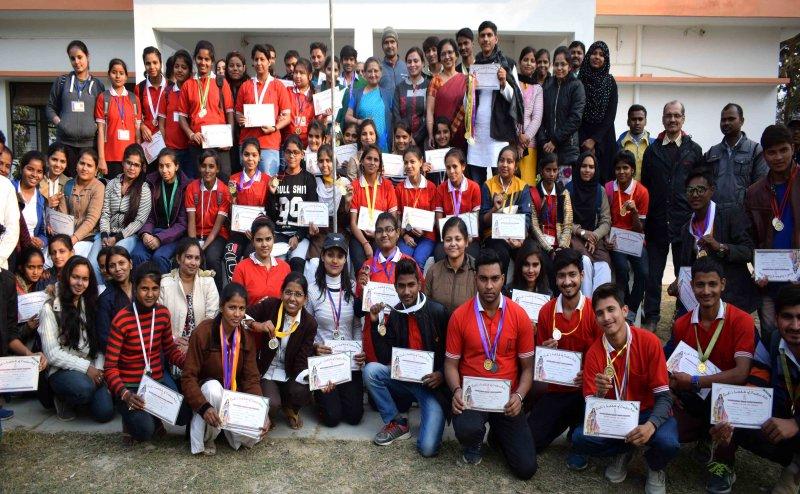 Ruchi's Institute of Creative Arts में सालाना खेलकूद प्रतियोगिता का आयोजन