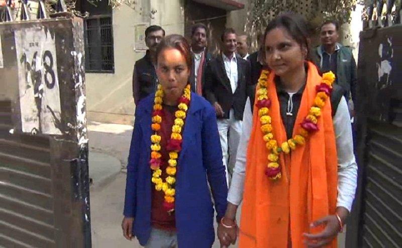 हमीरपुर में दो लड़कियों ने किया समलैंगिक विवाह, जानिए दोनों के 7 वचन