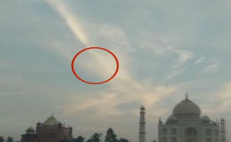 आगरा में पुलिस की मौजूदगी में ताजमहल के ऊपर उड़ता रहा ड्रोन, जानिए फिर क्या हुआ?