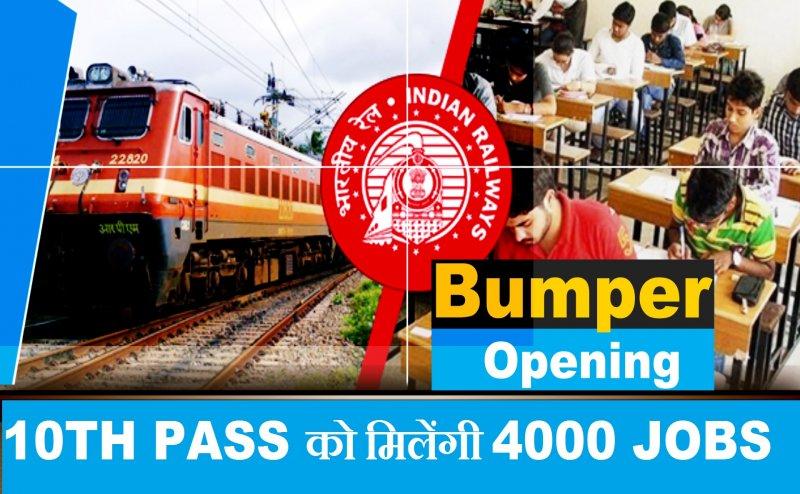 Indian Railways Recruitment 2019: रेलवे में निकली हज़ारो नौकरियां, दसवीं पास को भी मिलेगी 20,000 की जॉब