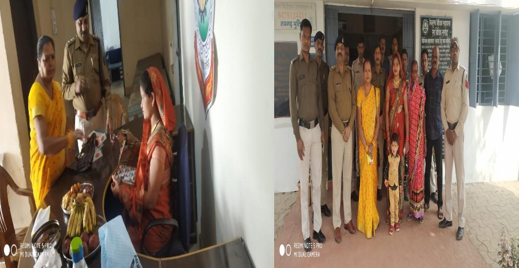 रायगढ़: थाने में महिला कॉन्स्टेबल की गोद भराई की रस्म