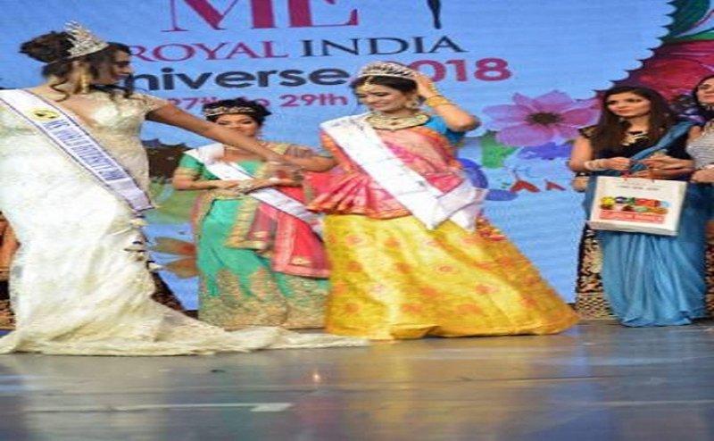 आगरा की आनंदना गर्ग ने जीता मिसेज रॉयल इंडिया वर्ल्ड का ताज