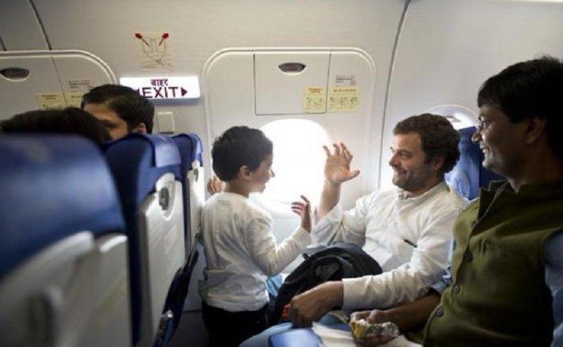 राहुल के विमान में गड़बड़ी, ट्वीट कर जताई सुरक्षा में चूक की आशंका