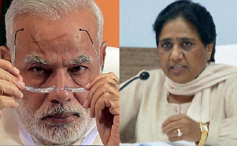 अलवर मामले में PM मोदी ने दिया मायावती को चैलेंज, कहा- कांग्रेस सरकार से समर्थन वापस लेकर दिखाएं