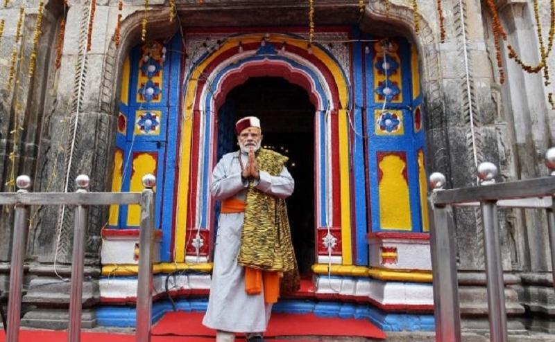केदारनाथ में 18 घंटे की पूजा अर्चना के बाद दिल्ली के लिए रवाना हुए पीएम मोदी