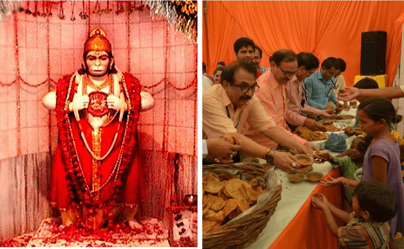 हिंदू-मुस्लिम एकता की मिसाल है लखनऊ का बड़ा मंगल, जगह जगह भंडारे और भक्तों की लगती है भीड़