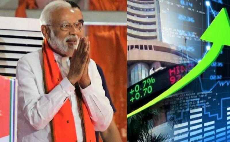 Loksabha Election Results 2019: लोकसभा चुनाव के रुझानों में BJP की जीत से झूमा शेयर बाजार, सेंसेक्स 40 हजार के पार