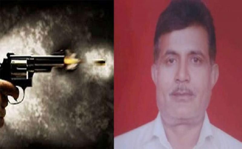 गाजियाबाद में गोली मारकर बीजेपी नेता की हत्या, स्कूटी पर आए थे बदमाश