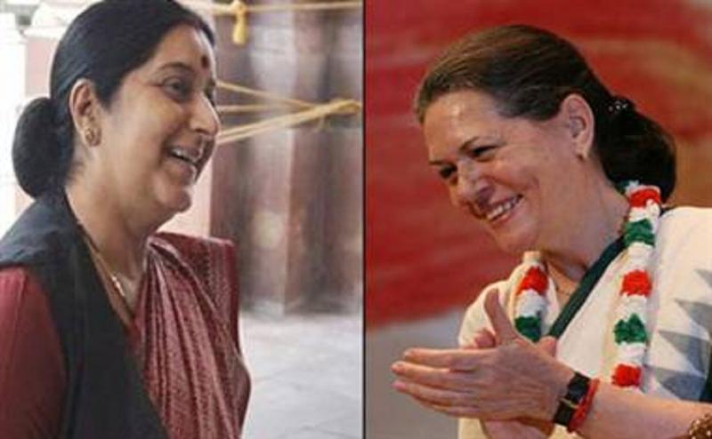 जब सुषमा स्वराज ने दी थी धमकी, सोनिया गांधी प्रधानमंत्री बनीं तो सिर मुंडवा लूंगी