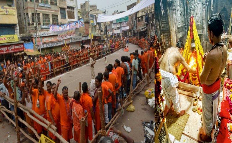 #महाशिवरात्रि: काशी विश्वनाथ दरबार में लाखों भक्तों की कतार, हर ओर हर-हर-महादेव की गूंज