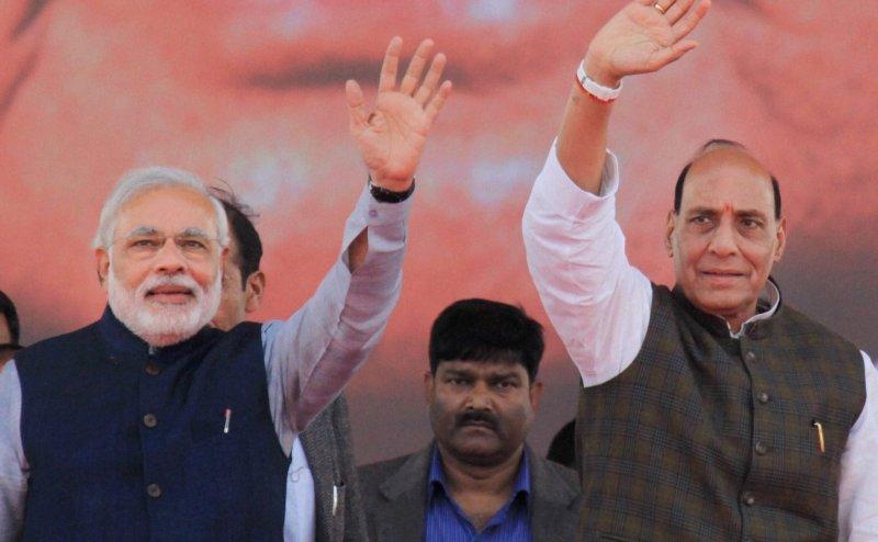 Lok Sabha Election 2019: राजनाथ सिंह ने बताया- मैं लखनऊ और पीएम मोदी वाराणसी से लड़ेंगे चुनाव