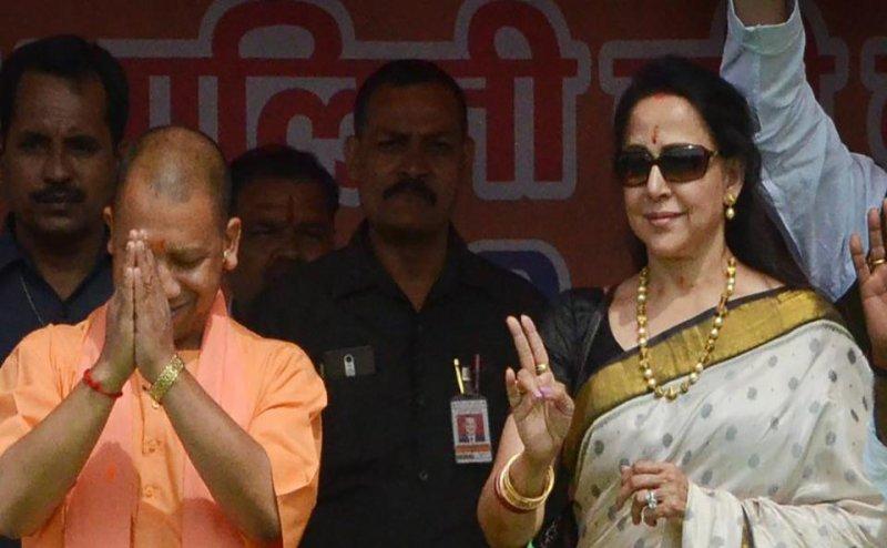 Lok Sabha Election 2019: पर्चा दाखिल करने के बाद बोलीं हेमा मालिनी- यही मेरा आखिरी चुनाव