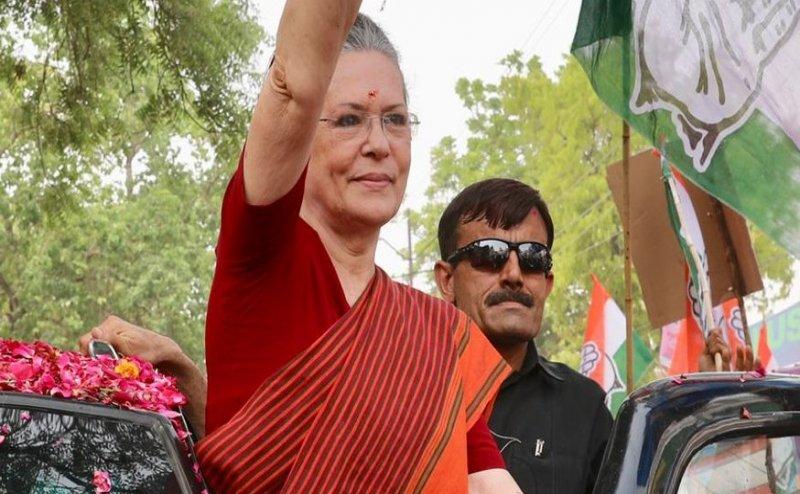 Lok Sabha Election 2019: रायबरेली में रोड शो के बाद सोनिया गांधी ने किया नॉमिनेशन