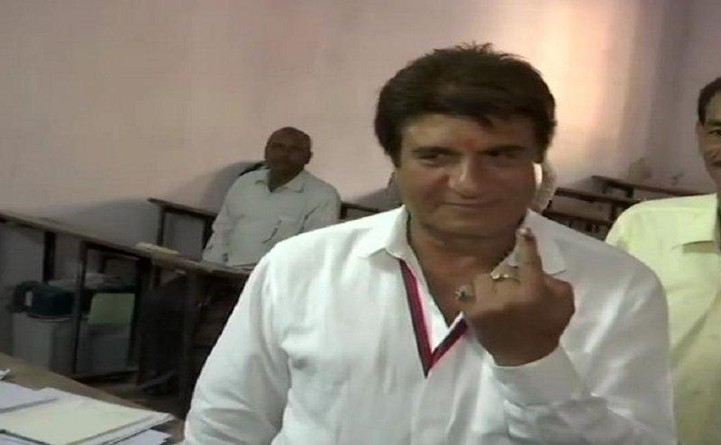 Lok Sabha Election 2019: फतेहपुर सीकरी में राज बब्बर ने डाला वोट, बोले- 5 सालों में नहीं किए गए वादे पूरे