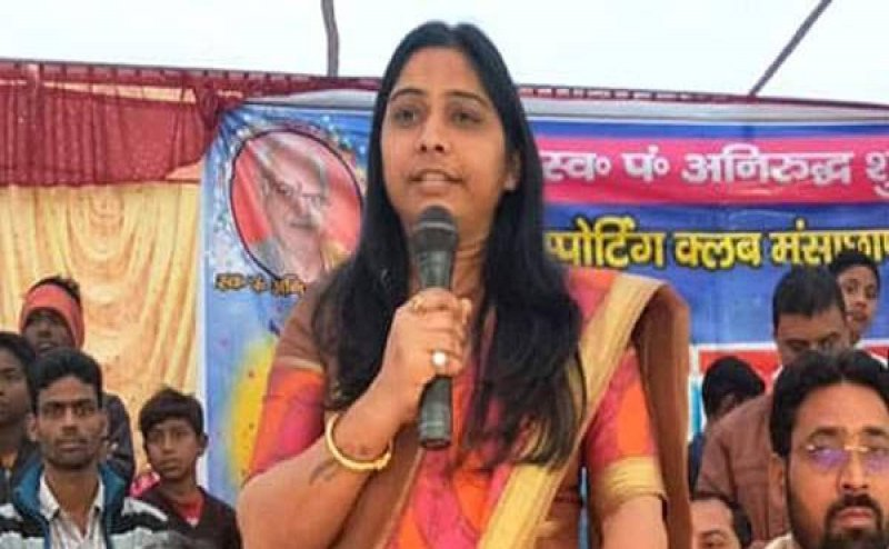 BJP प्रत्याशी संघमित्रा मौर्य का वीडियो वायरल, बोलीं- मौका मिले तो डालो फर्जी वोट