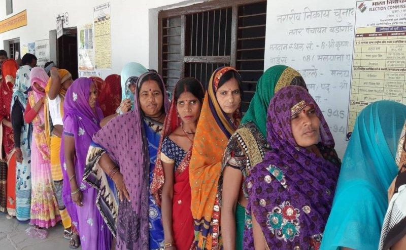 Lok Sabha Election 2019: UP के 13 सीटों पर वोटिंग खत्म, 54 फीसदी औसत मतदान