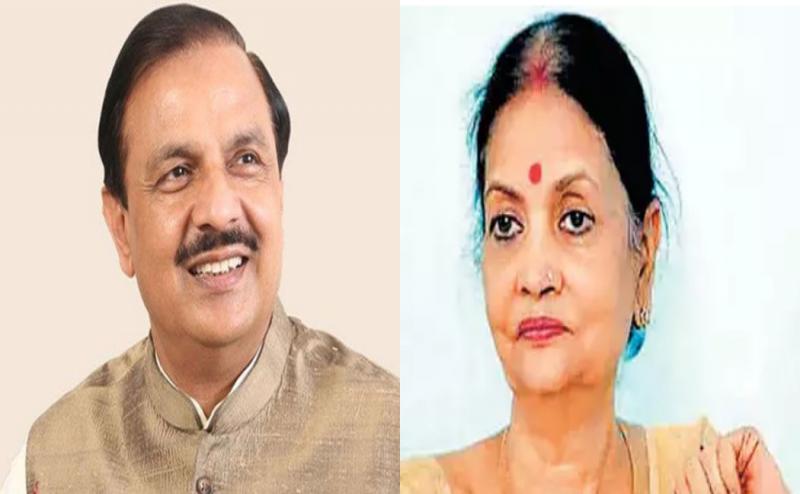 केंद्रीय मंत्री महेश शर्मा को ब्लैकमेल करने के आरोप में राष्ट्रकवि दिनकर की नातिन गिरफ्तार