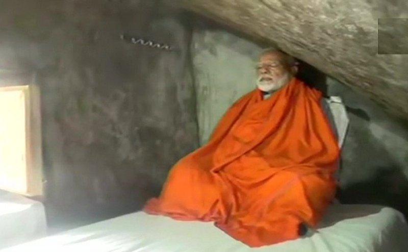 गुफा में PM मोदी की साधना शुरू, कल सुबह तक वहीं लगाएंगे ध्यान, मीडिया पर भी पाबंदी