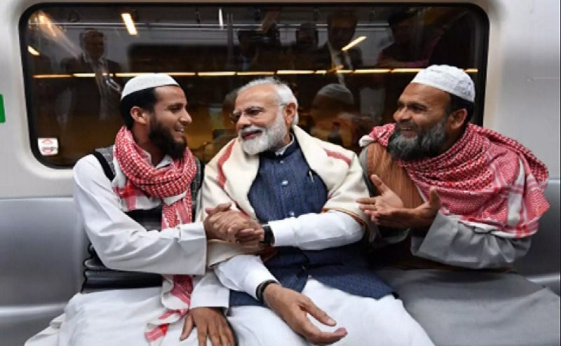 मुस्लिम बहुल इलाकों में भी चला मोदी मैजिक, BJP को दिल खोलकर इतने सीटों पर मुस्लिमों ने दिया वोट