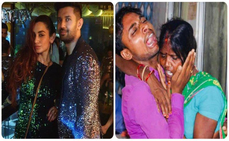 बिहार में मासूमों की मौत से बेखबर गोवा में पार्टी मना रहे हैं चिराग पासवान !