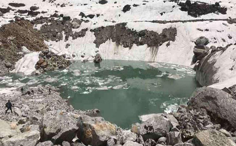 केदारनाथ के पास फिर बनी खतरनाक बर्फीली झील, वैज्ञानिकों ने जताई नई त्रासदी की आशंका