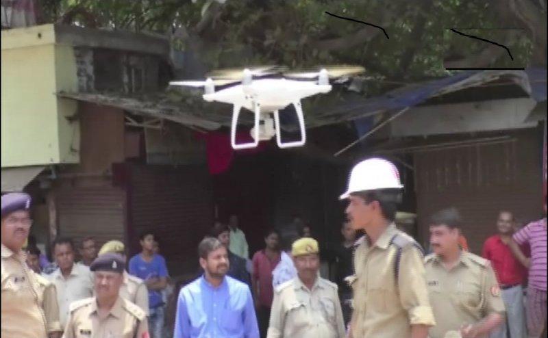 कानपुर में UP पुलिस अब ड्रोन कैमरे के जरिए करेगी ट्रैफिक की मॉनिटरिंग