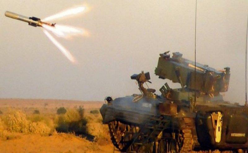 उपलब्धि: थार रेगिस्तान में मिसाइल NAG के एडवांस वर्जन का सफल परीक्षण, टैंक पर ऊपर से करती है हमला
