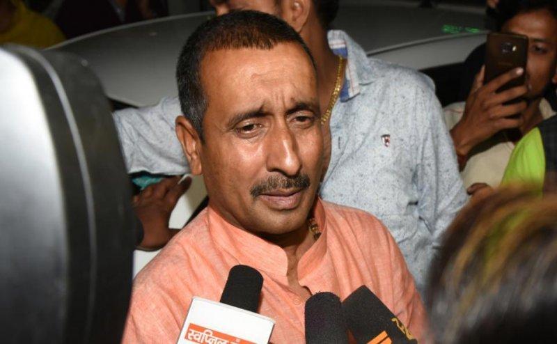 उन्नाव गैंगरेप के आरोपी MLA कुलदीप सिंह सेंगर को BJP ने पार्टी से निकाला