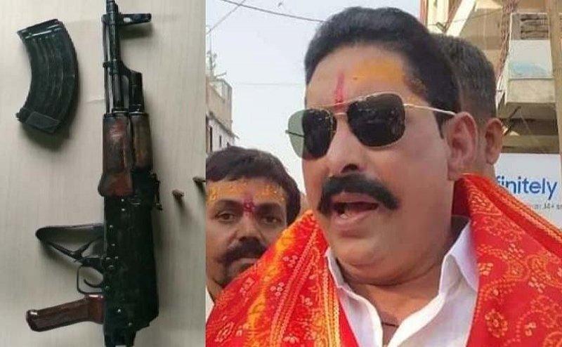 बिहार: MLA अनंत सिंह के घर पर पुलिस की छापेमारी, AK-47 राइफल बरामद