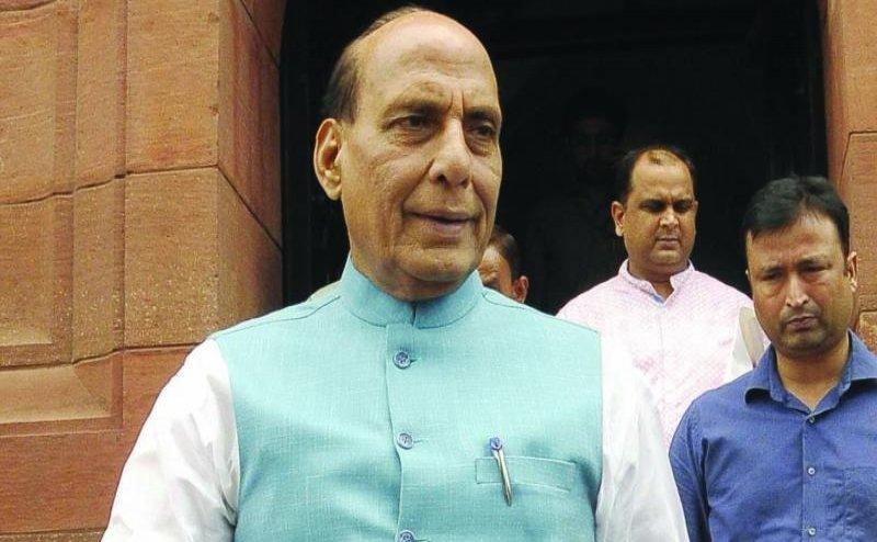 राजनाथ सिंह के घर पहुंचे गृह मंत्री अमित शाह, शुरू हुई ग्रुप ऑफ मिनिस्टर्स की बड़ी बैठक