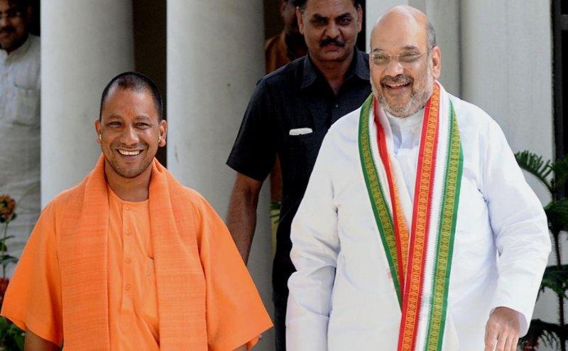 CM योगी और स्वतंत्र देव ने अमित शाह से की मुलाकात, UP में मंत्रिमंडल विस्तार की अटकलें तेज