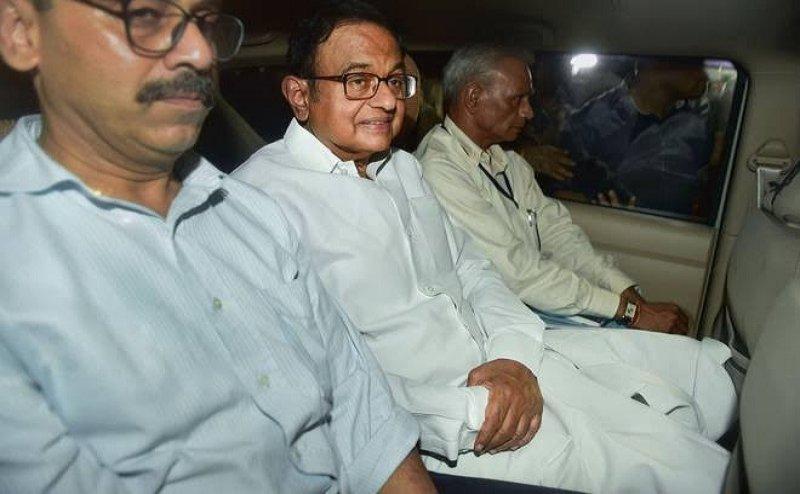INX Media केस: पी. चिदंबरम को झटका, 26 अगस्त तक CBI की रिमांड पर कस्टडी में भेजे गए
