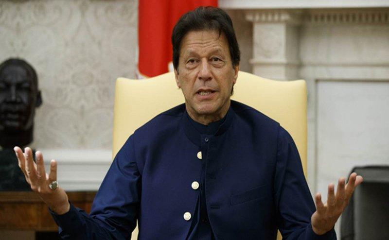 इमरान खान ने न्यूक्लियर हमले की दी गीदड़भभकी, कहा- कश्मीर पर किसी भी हद तक जाएंगे