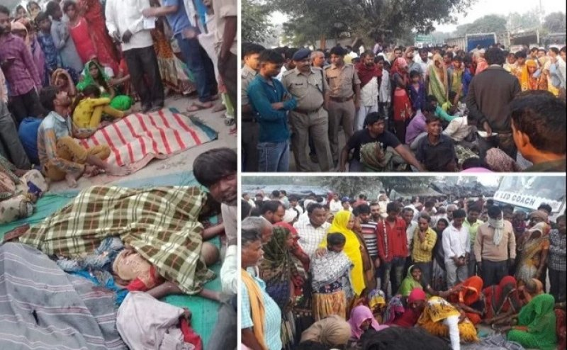 बुलंदशहरः बस ने वैष्णो देवी से आ रहे सात लोगों को रौंदा, सभी मृतकों के परिजनों के लिए 2-2 लाख का एलान