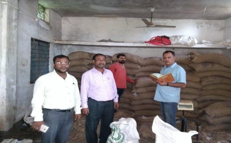 कांकेर की सरकारी राशन दुकान से 63 हजार का चावल और शक्कर चोरी