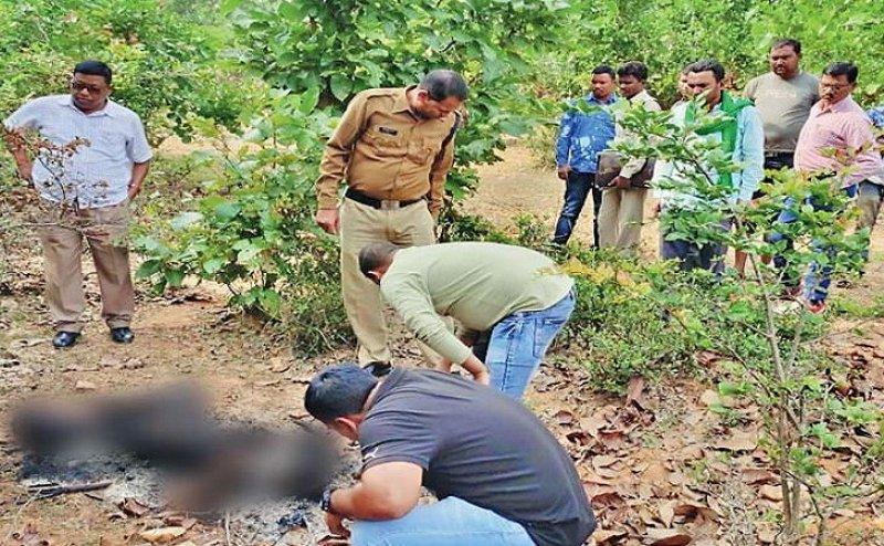 छत्तीसगढ़ में भी हैदराबाद जैसा केस, जंगल में मिली एक युवती की अधजली लाश