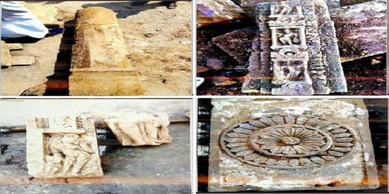 राम मंदिर: श्रीराम जन्मभूमि परिसर में प्राचीन मंदिर के अवशेष मिलने से साधु समाज में खुशी की लहर