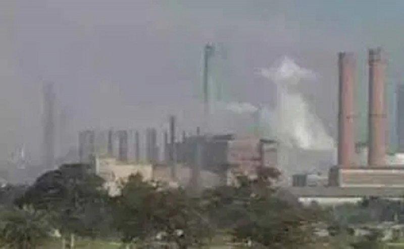भिलाई इस्पात संयंत्र  मे  गैस रिसाव में 6 कर्मी बेहोश