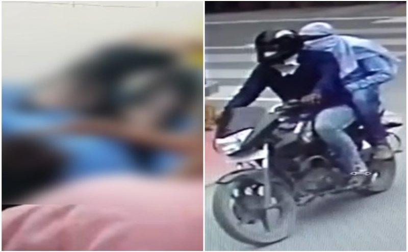 CCTV: गाजियाबाद में महिला डॉक्टर पर फेंका तेजाब, गंभीर